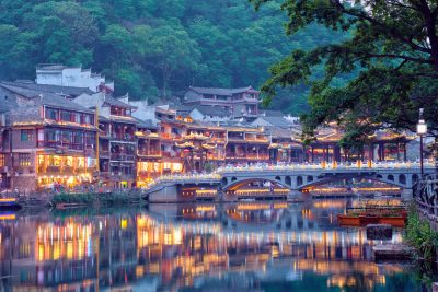 Feng Huang Ancient Town Phoenix Ancient Town on Tuo Jiang River