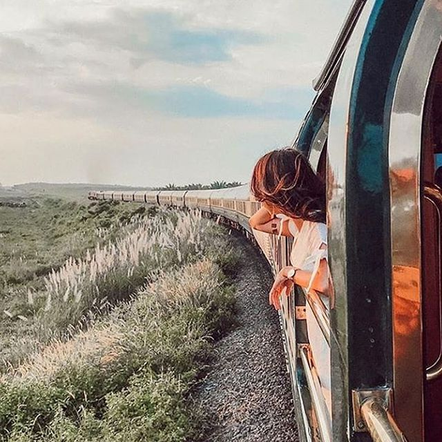 Girl in a Train